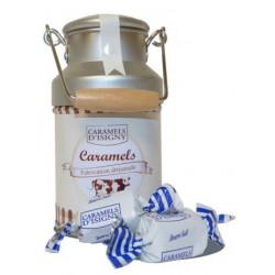 Pot à lait garni de caramels d'Isigny - 75g