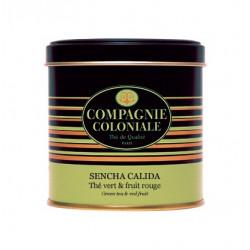 Thé vert Sencha Calida - Boite Métal luxe de 90g