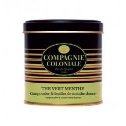 Thé Vert Menthe - Boite Métal luxe de 120g