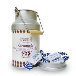 Pot à lait garni de caramels d'Isigny - 180g