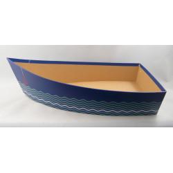 Corbeille Barque carton (grand modèle)