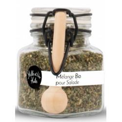 Mélange d'herbes BIO pour salades - Pot de 15g