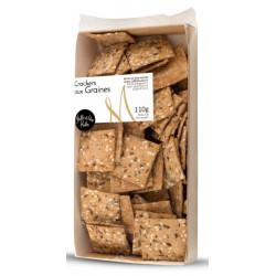 Crackers aux graines - boite de 110g
