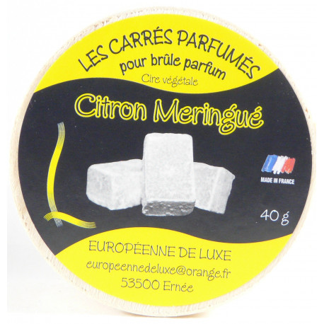 Carrés Parfumés - Citron Meringué