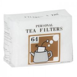 Filtres à thé (sachet de 64)
