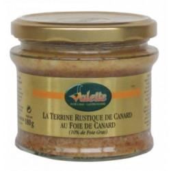 Terrine Rustique de Canard au Foie Gras 180G