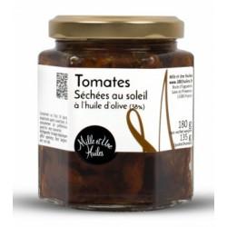 Tomates séchées au soleil à l'huile d'Olive (38%) - Pot de 180g