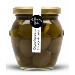 Olives farcies au fromage de brebis - pot de 190g