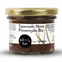 Tapenade Noire Provençale Bio - pot de 95g