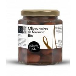Olives Noires de Kalamata Bio - 190g