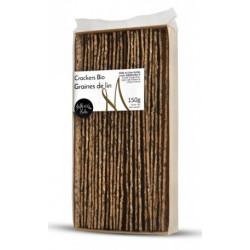 Crackers Bio Graines de lin - sachet de 150g