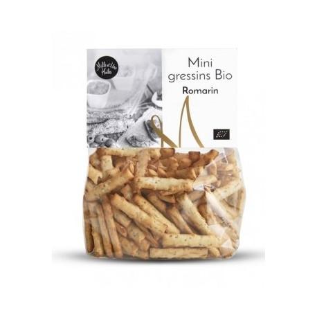 Mini gressins Bio au Romarin - sachet de 150g