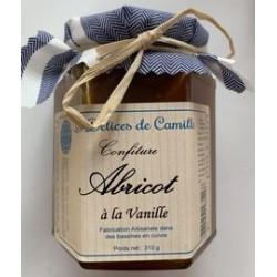 Confiture d'Abricot à la vanille - Pot de 310g