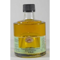 Huile d'Olive au Basilic empilable 25cL