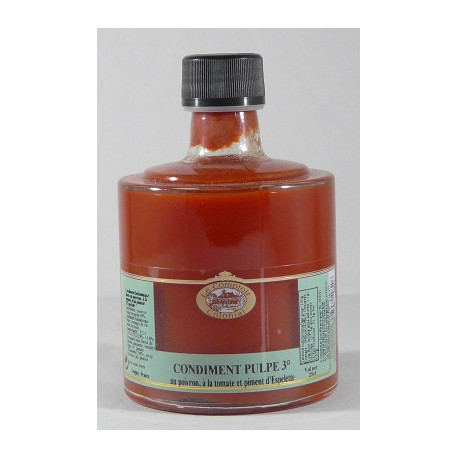 Condiment Pulpe 3° empilable 25cL