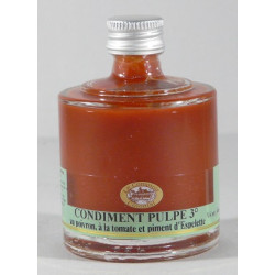 Mini empilable Condiment Pulpe 3° 40mL
