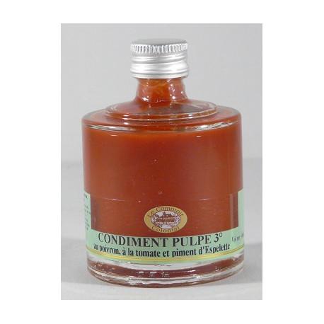 Mini empilable Condiment Pulpe 3° 40mL