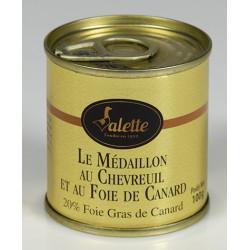 Médaillon de Chevreuil au foie de canard - 100g