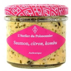 Rillettes de Saumon, Citron, Kombu - 90 g