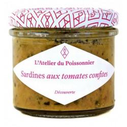 Rillettes de sardines aux tomates confites, pot de 90g