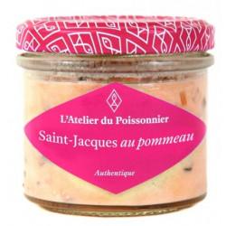 Rillettes de Saint Jacques au Pommeau - 90 g