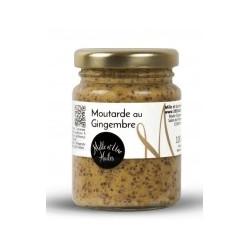 Moutarde saveur pain d'épices - Pot de 100g