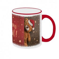 "Mug ""Ours Joyeux Noël"""
