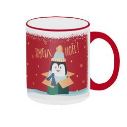 """Mug """"Pingouin Joyeux Noël"""""""