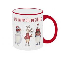 """Mug """"Vive la magie des Fêtes"""""""