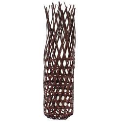 Tube bambou ajouré