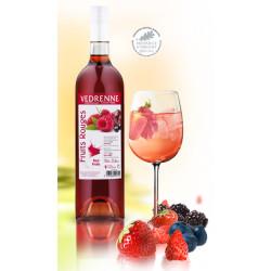 Vin Rosé aux Fruits Rouges - 75cL