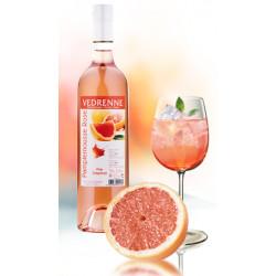 Vin Rosé au Pamplemousse - Bouteille de 75cL