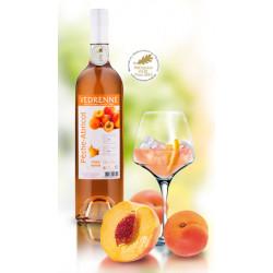 Vin Rosé Pèche-Abricot - Bouteille de 75cL
