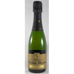 Champagne Charles Heston Brut - Bouteille de 37,5cL