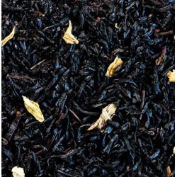 Thé noir aromatisé, caramel et fleurs - Vrac (sachet de 100g)