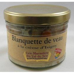 Blanquette de veau à la crème d'Isigny - Bocal de 380g