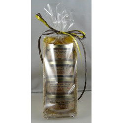 Corbeille de 4 terrines - 4 bocaux de 150g