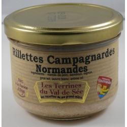 Rillettes Campagnardes Normandes - bocal de 190g