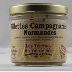 Rillettes campagnardes Normandes - bocal de 90g