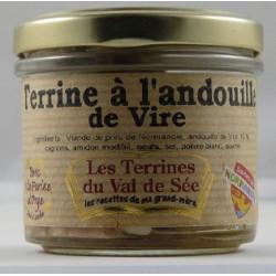 Terrine à l'andouille de Vire - bocal de 90g
