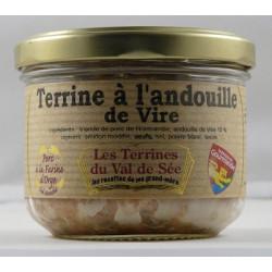 Terrine à l'andouille de Vire - bocal de 190g