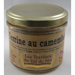 Terrine au camembert de Normandie - Bocal de 90g