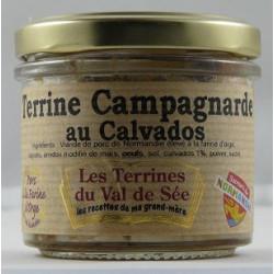 Terrine campagnarde au Calvados - bocal de 90g