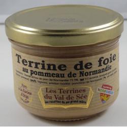 Terrine de foie au pommeau de Normandie - Bocal de 190g