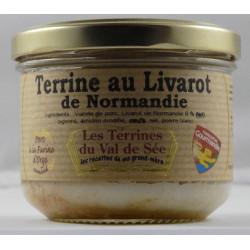 Terrine au Livarot de Normandie - Bocal de 190g