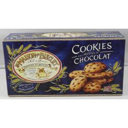 Cookies aux pépites de chocolat Noir - Boite de 220g