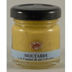 Moutarde à la pomme et au calvados 35g