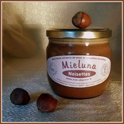 Mieluna ou Miel-Noisette - Pot de 400g