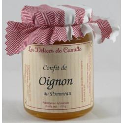 Confit d'Oignon au Pommeau 110g