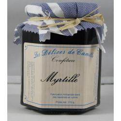Confiture de Myrtille - Pot de 310g